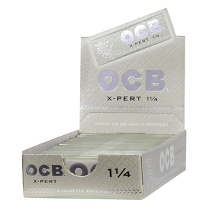 OCB X-Pert Rolling Papers (Display) - 1¼