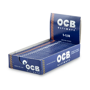 OCB Ultimate Rolling Papers (Display) - 1¼