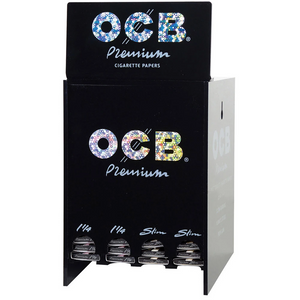 OCB Premium Rolling Papers (Display Stand)
