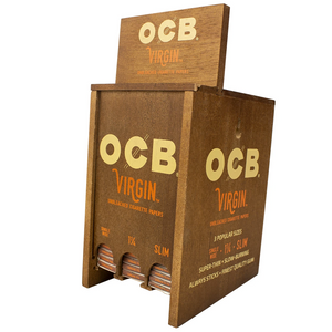 OCB Virgin Rolling Papers (Display Stand)