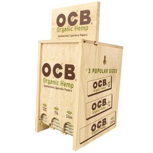 OCB Organic Hemp Rolling Papers (Display Stand)
