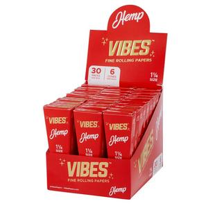 Vibes 1¼ Pre-Rolled Cones (Display) - Hemp
