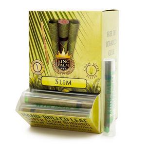 King Palm 50 Tubes Pre-Rolled Cones (Display) - Slim