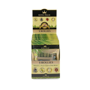 King Palm 5 Rolls Pre-Rolled Cones (Display) - Rollies