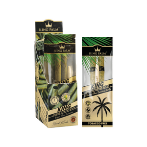 King Palm 2 Rolls King Size Pre-Rolled Cones (Display)