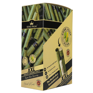 King Palm 1 Roll XXL Size Pre-Rolled Cone (Display)