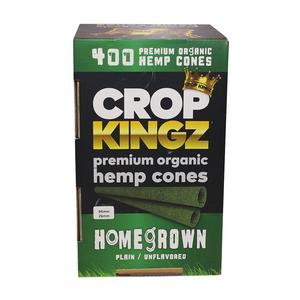 Crop Kingz Premium Organic Hemp Pre-Rolled Cones (Bulk) - 1¼ (84mm x 26mm)
