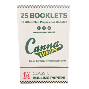CannaWraps Rolling Papers (Display) - 1¼