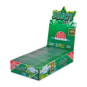 Juicy Jay's 1¼ Flavored Rolling Papers (Display) - Absinth