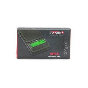 Truweigh Apex Digital Mini Scale (Single Unit) - 1000g