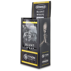 Tyson Ranch x Futurola Blunt Rolling Wraps (Display)