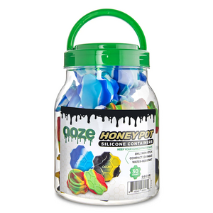 Ooze Honey Pot Silicone Container (Display)