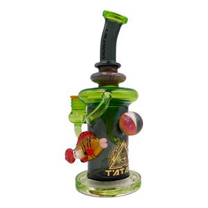 """Lookah (C14G) Tataoo 11"""" Glass Water Pipe (Single Unit)"""