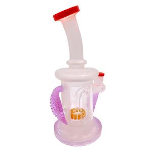 """Lookah (C32R) Tataoo 8.5"""" Glass Water Pipe (Single Unit)"""