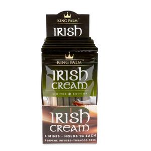 King Palm 5 Mini Size Flavored Pre-Rolled Cones (Display) - Irish Cream