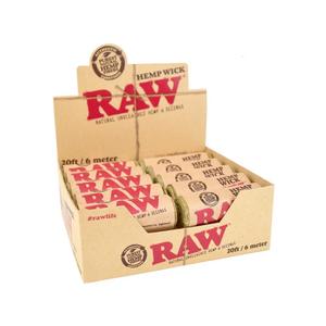 RAW 20ft Hemp Wick (Display)