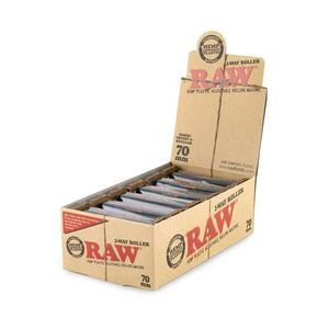 RAW 2-Way Hemp Plastic Roller Rolling Machine (Display) - 70mm