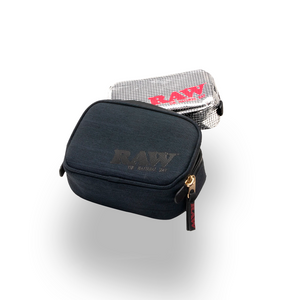 RAW Black Smell-Proof Pouch (Single Unit) - Small