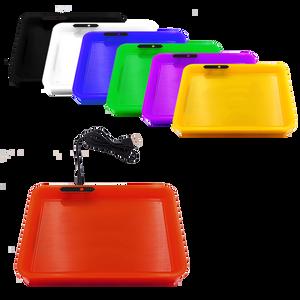LED Rolling Tray w/ Scale (Single unit)