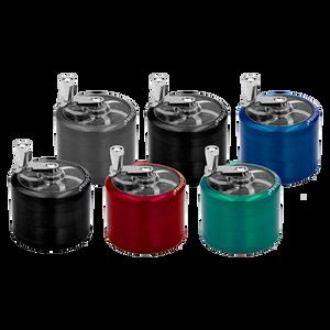Crank Manual Metal Grinder (Assorted Colors)(Display) - Medium