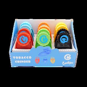 Pocket Size Plastic Tobacco Tray Grinder (Display)