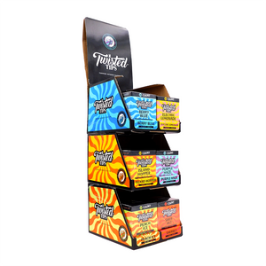 Twisted Tips Flavored Terpene Infused Filter Tips (Shelf Display)