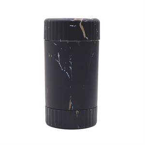 3 in 1 Design LED Storage Glow Jar (Single Unit) - Black Paint Splatter