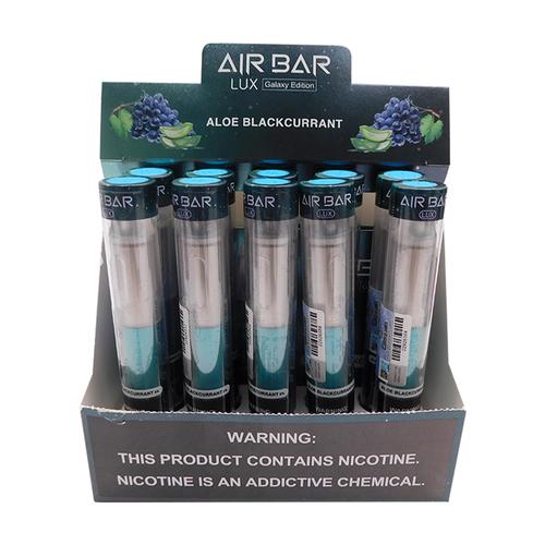 Air Bar LUX Disposable Vape (Display) - Aloe Blackcurrant