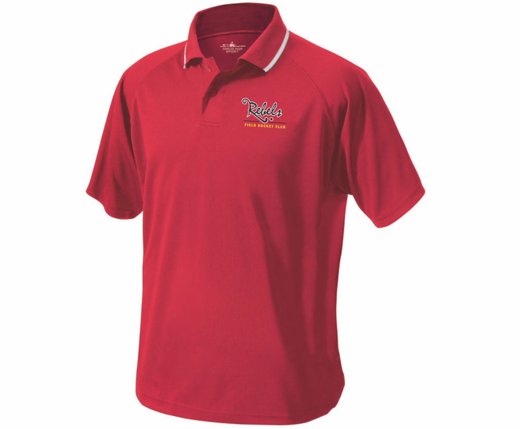 Rebels FH Performance Polo, Red