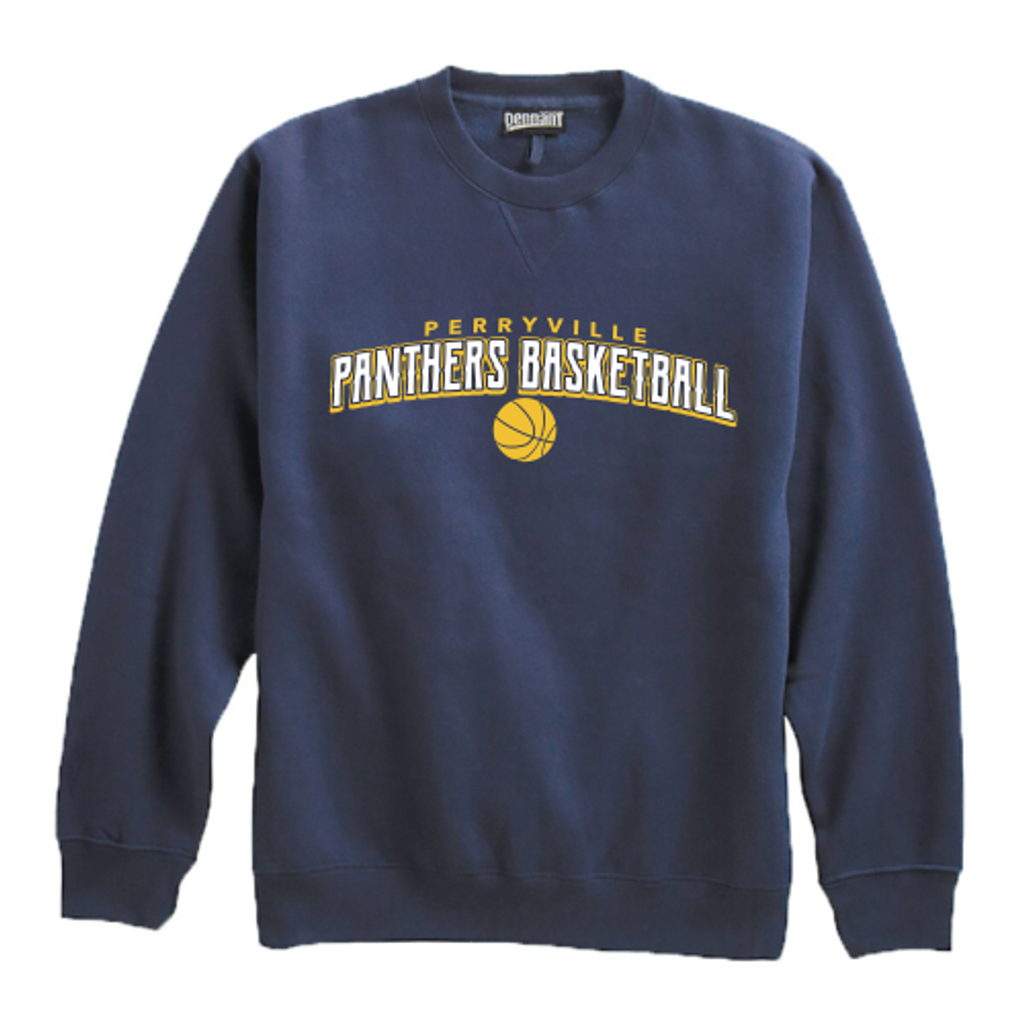 Perryville Basketball Crewneck Sweatshirt