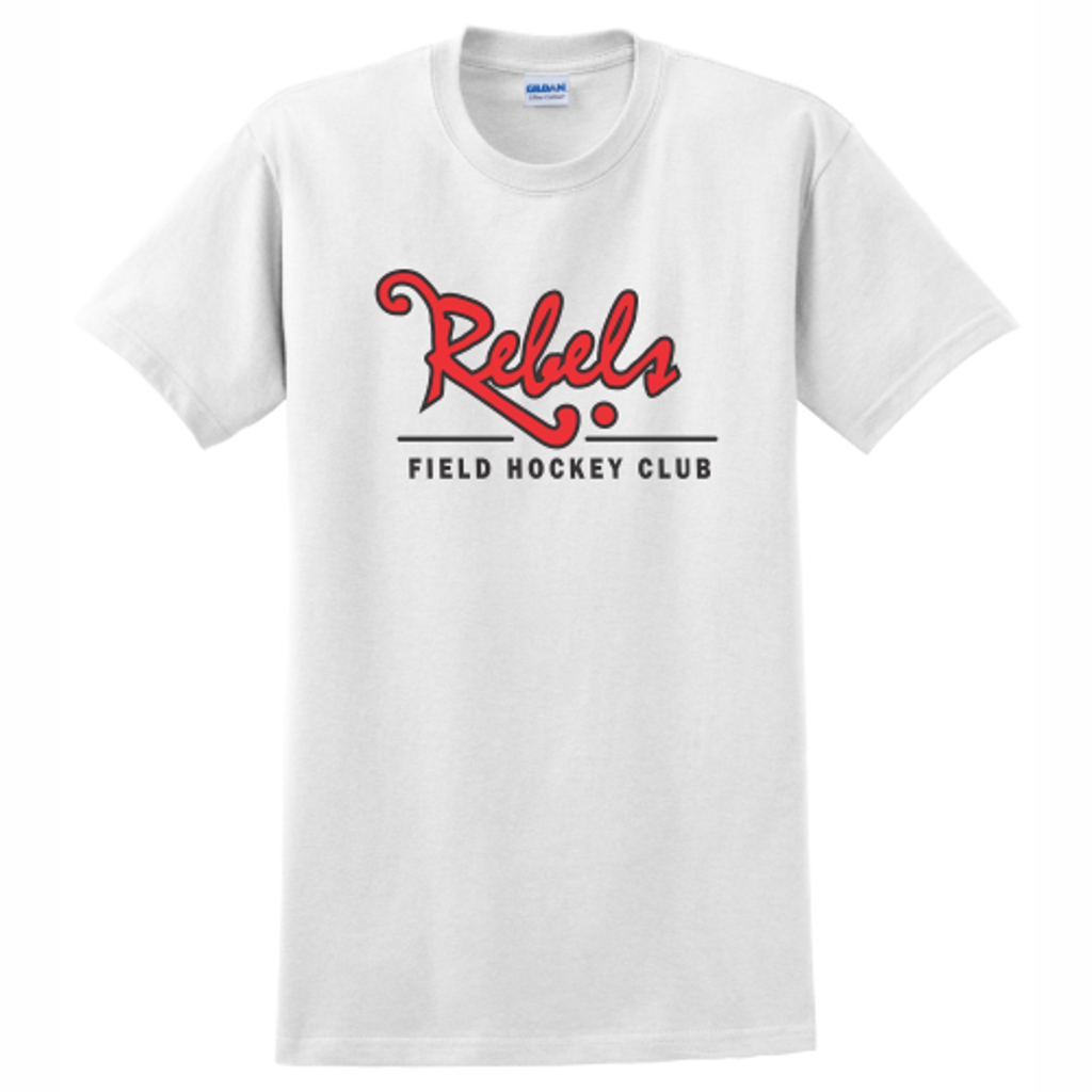 Rebels FH Cotton Tee, White