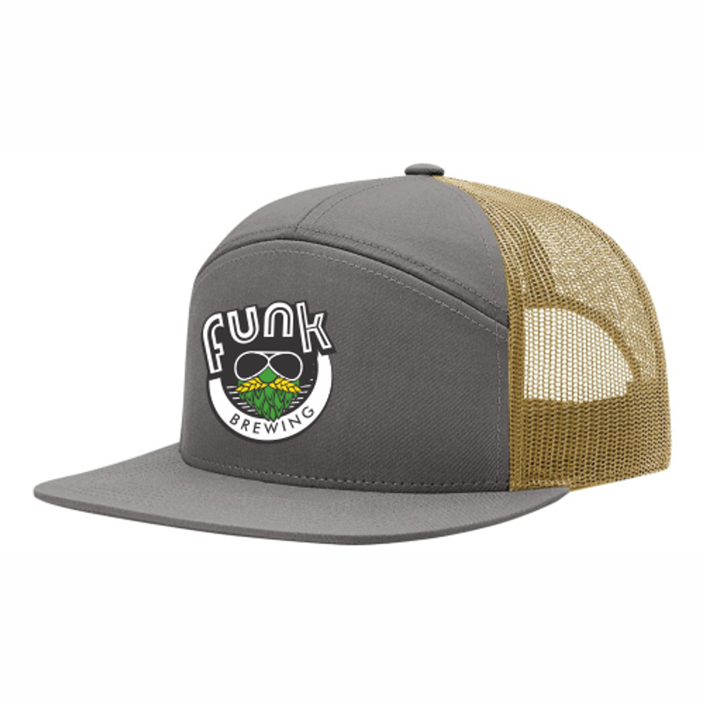 """Funk Brewing """"Hipster"""" Hat, Gold"""