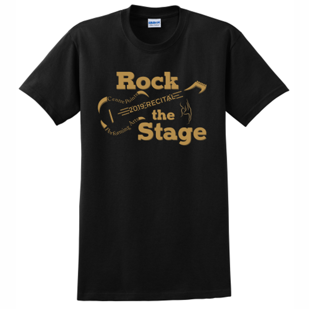 """Centre Pointe """"Rock The Stage"""" Tee"""