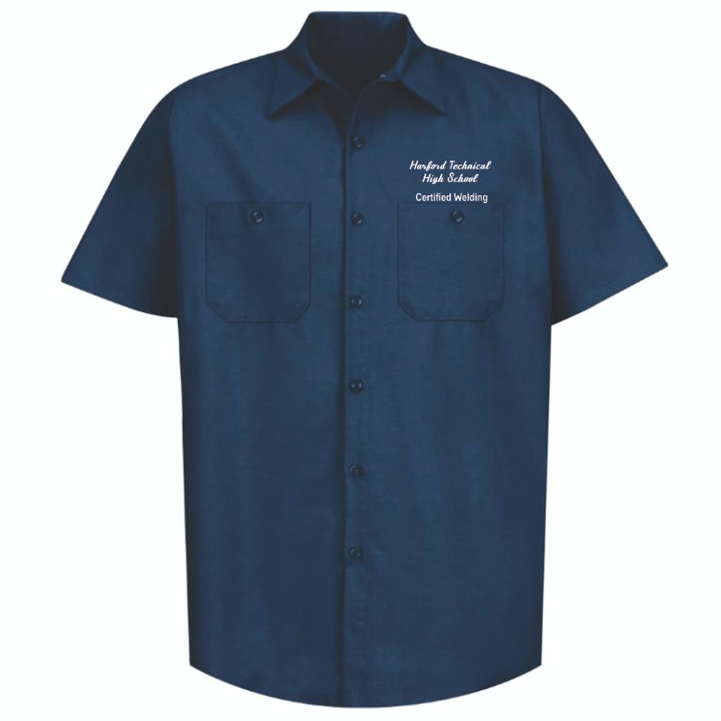 Harford Technical High School Work Shirt for Welding