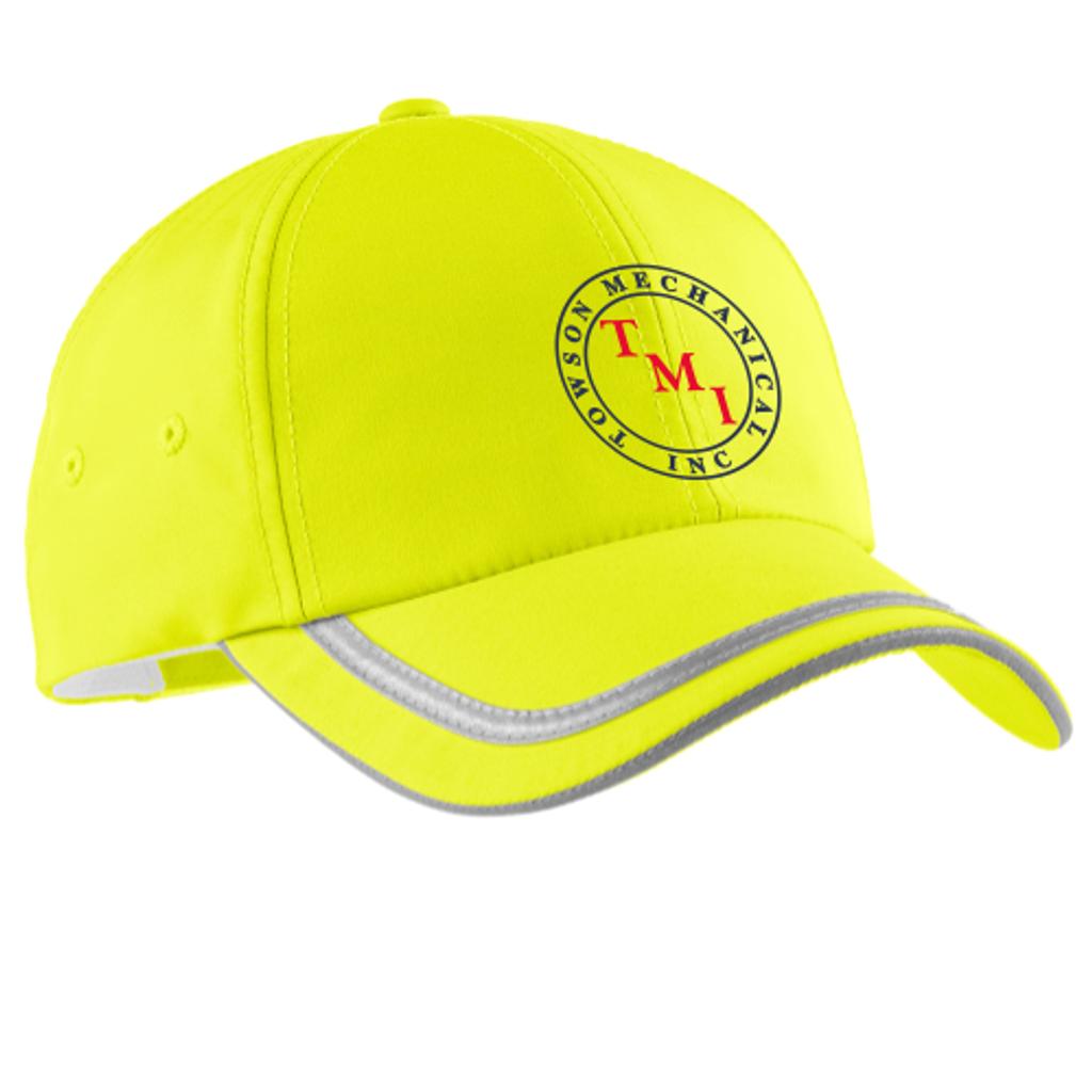 TMI Adjustable Safety Yellow Hat