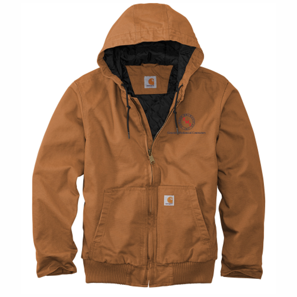 TMI Carhartt Duck Canvas Active Jacket, Brown