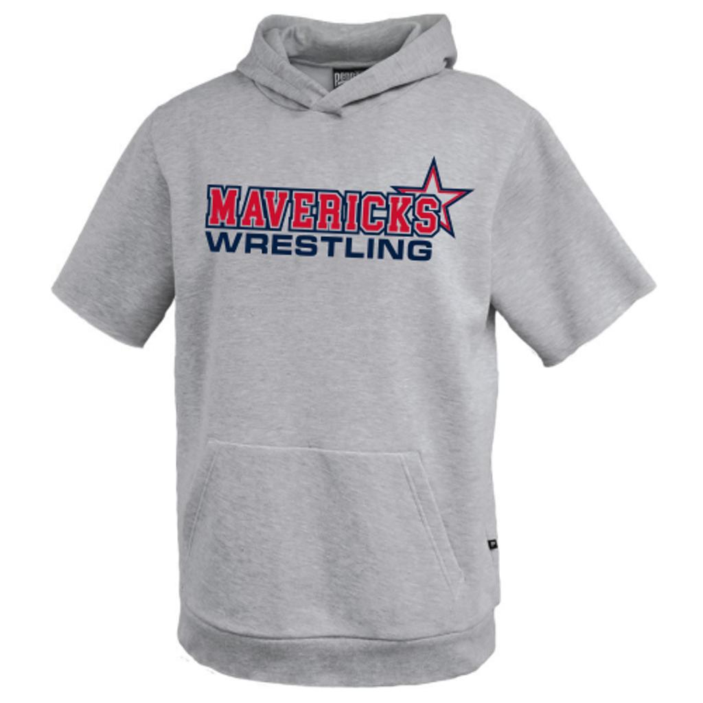 Mavericks Wrestling Short-Sleeve Hoodie