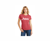 Rebels FH Triblend Tee, Heathered Red