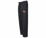 Rebels FH Open-Bottom Sweatpants, Black