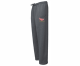 Rebels FH Open-Bottom Sweatpants, Charcoal
