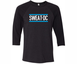 Sweat DC 3/4 Sleeve tee, Black