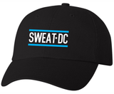 Sweat DC Adjustable Twill Cap, Black