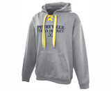Perryville Field Hockey Laced Hoodie, Grey