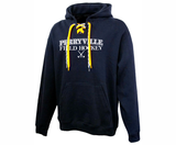Perryville Field Hockey Laced Hoodie, Navy