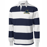 Perryville HS Basketball Rugby Stripe Polo
