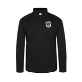 Funk Brewing 1/4-Zip Pullover, Black
