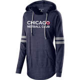 Chicago Netball Ladies Tri-Blend Hooded Tee