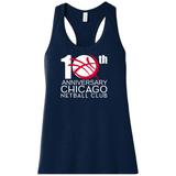 Chicago Netball Anniversary Racerback Tank