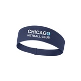 Chicago Netball Performance Headband, Navy