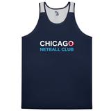 Chicago Netball Ventback Singlet